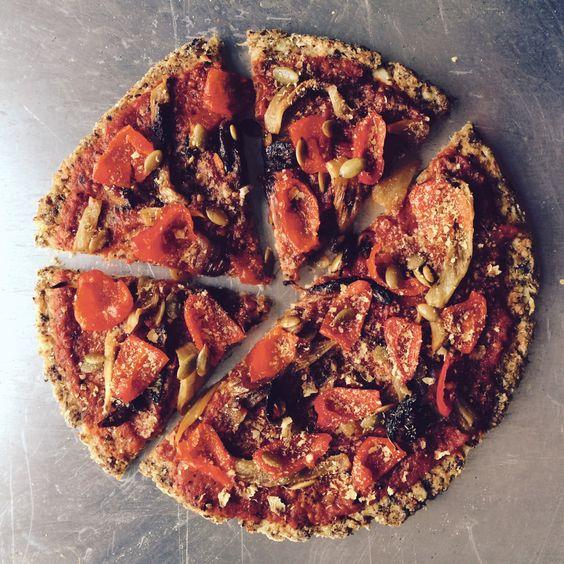 CRUCIFEROUS CRUCIFIXION +++ — superfree cauliflower rice and pizza crust