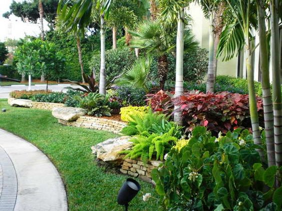 Wow What A Lush Landscape I Love It Florida Landscaping