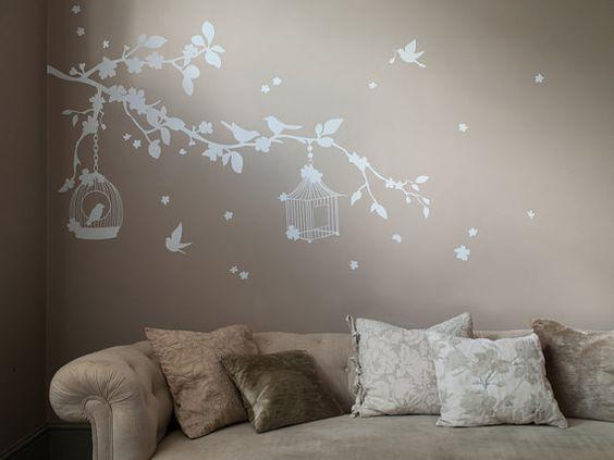 D And Co Decoration Mural Branche De Cerisier