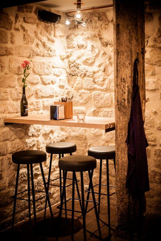 Bar à vins/restaurant dans le Sentier, Paris 3.