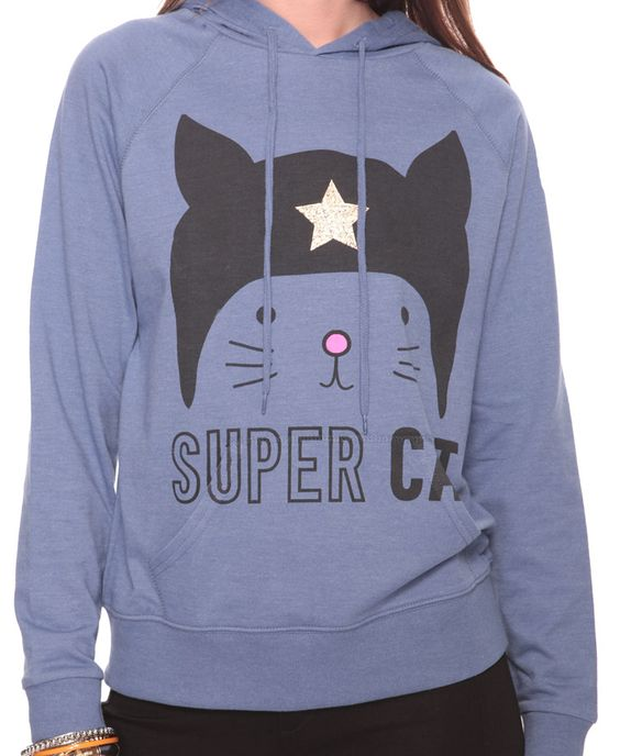 Super cat hoodie! Meow: Cats, Hoodie Meow, Super Cat, Cat Kick, My Style