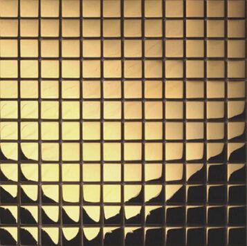 Crystal Glass Mosaic Gold Plating Silver font b Metal b