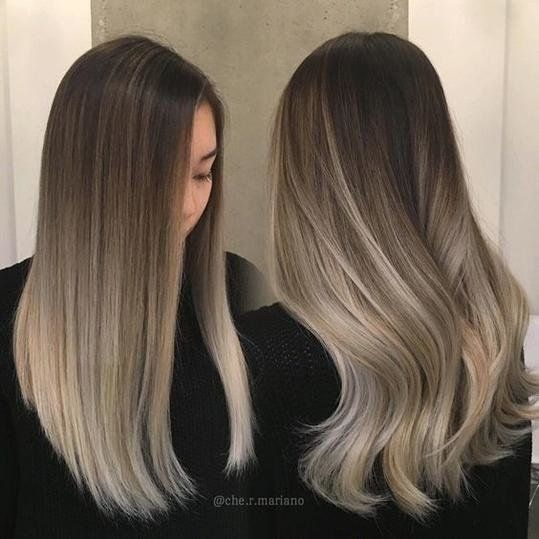 Brown Ombre Hair Color Ideas Ombre Hair Blonde Balayage Straight Hair Brown Ombre Hair