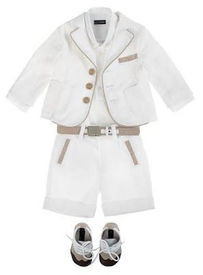 A posh little suit from Fendi