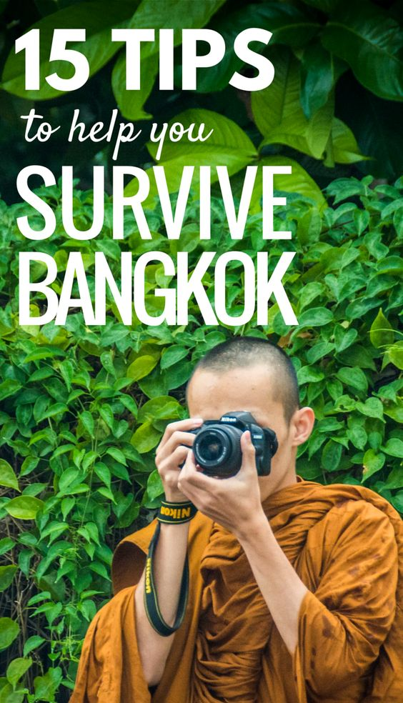 travel blogs tips survive your first bangkok