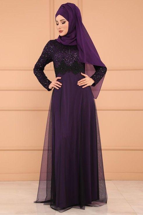 Modaselvim Abiye Gupurlu Tul Etek Abiye Ech7224 S Mor Formal Dresses Long Dresses Formal Dresses