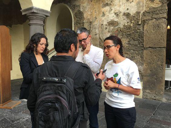 https://flic.kr/s/aHskxEW1we   Lanzamiento MIA en Puebla   Rueda de prensa previo a salir a campo en Puebla