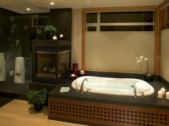 Photo of Brown New Traditional Bathroom project in Kirkland, WA by Gelotte Hommas