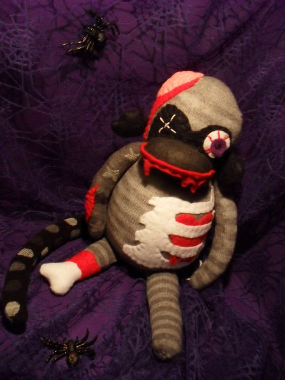 Brian The Zombie Sock Monkey