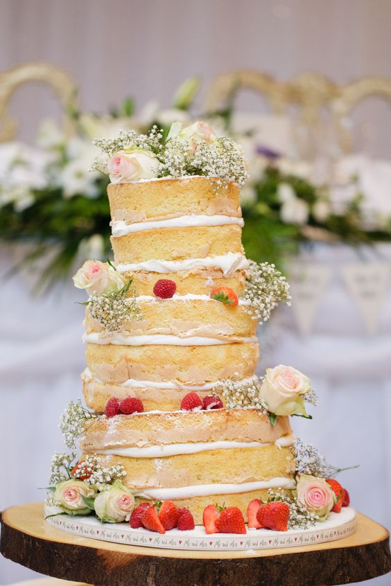 Fiona and Ivan's gorgeous wedding cake by Funky Cakes