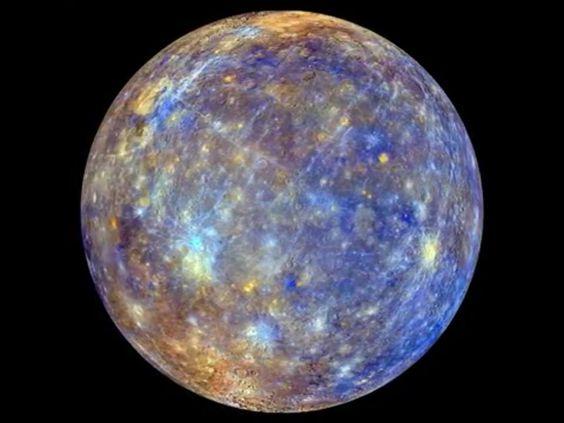 Mercury, NASA and Planets on Pinterest