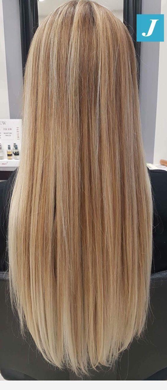 Mixed Diamond And Light Blonde Color Pelo Rubio Largo Pelo