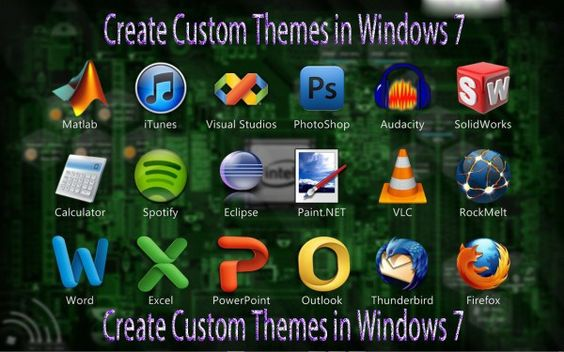 How to Make Custom Themes For Windows 7
