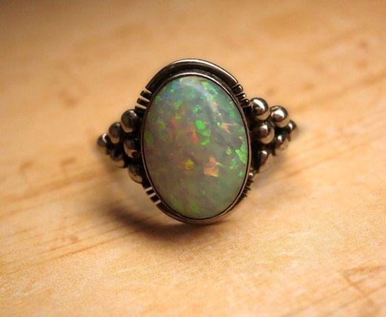 Opal Ring: