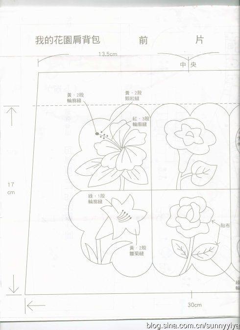 [转载]【咿呀分享】爱不释手先染拼布包(2)