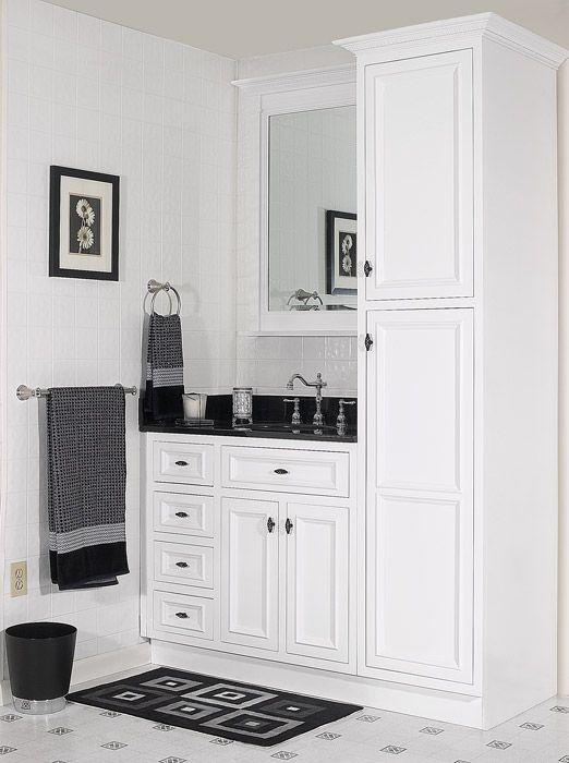 Bathroom Vanities And Cabinets On Pinterest
