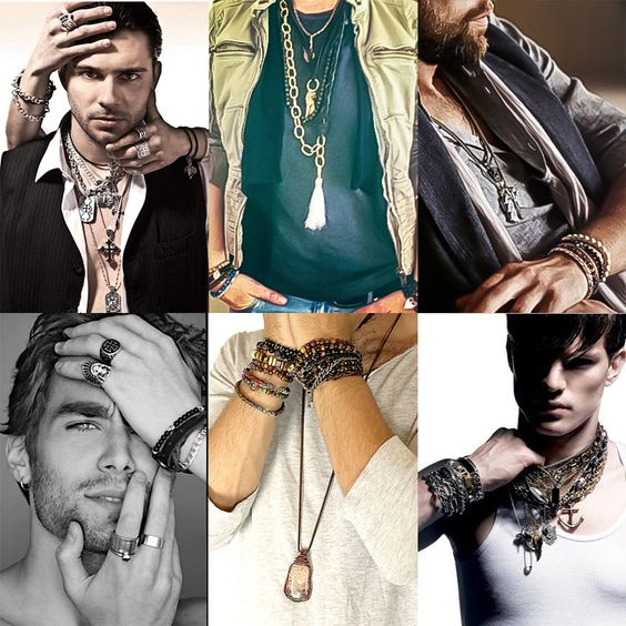 men's bohemian style jewelry