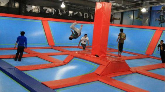 Jump-In es el primer trampoline park en México, entérate de todos los detalles…