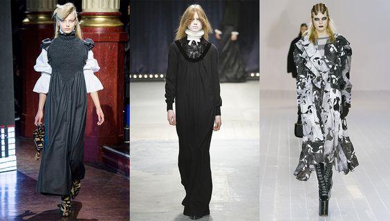 Tendance mode automne-hiver 2016-2017 Victorienne: