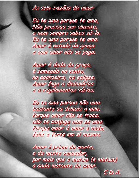 Carlos Drummond de Andrade S2 É muito amor!!!
