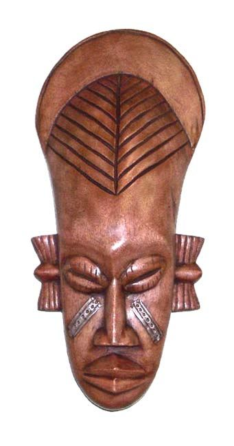 Okay maybe just because of the name- Frafra. Spark the conversation and intrigue your guests with this authentic hand-carved African Frafra Mask wall accessory. This mask was hand-crafted by members of the Frafra Tribe of Northern Ghana with special markings signifying intelligence and wisdom.