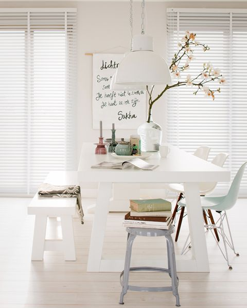 scandi dining space: