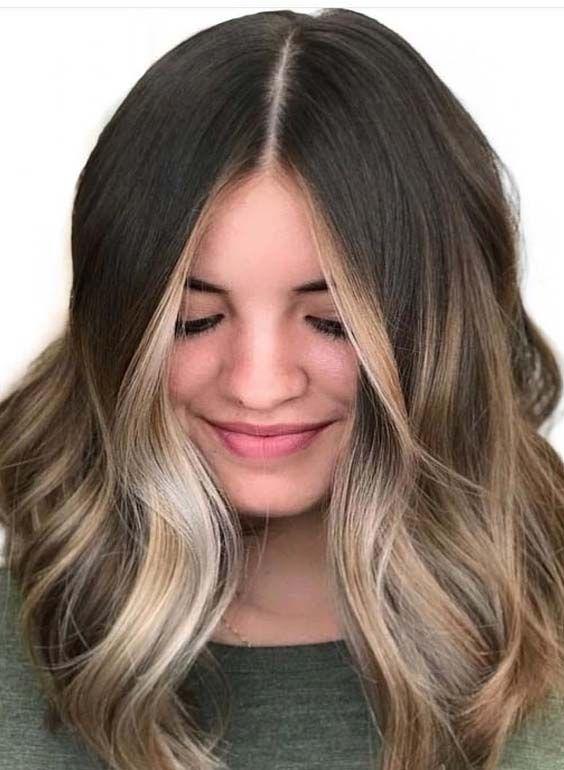 49 Fantastic Face Framing Balayage Highlights For 2018 In 2020 Hair Contouring Balayage Hair Brown Hair Inspiration