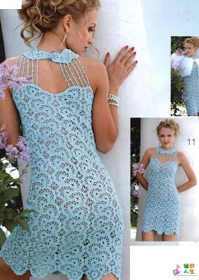 FIO MÁGICO crochet dress