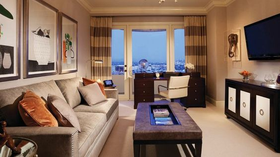 Presidential Suite East at Four Seasons Hotel Los Angeles at Beverly Hills