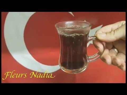 تحضير الشاي التركي من يد عائلة تركية Turkish Tea Youtube Tableware Glassware