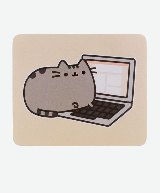 Pusheen the Cat mouse pad