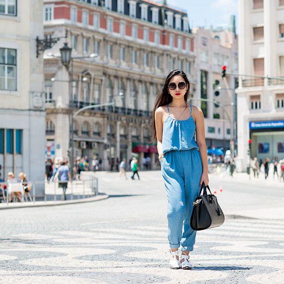 Alexander Wang Bag, Zara Jumpsuit, Asos Shoes, Asos Sunglasses