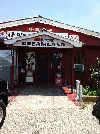 Crossed this off my bucket list today. Dreamland BBQ - Tuscaloosa, AL best BBQ ever ever
