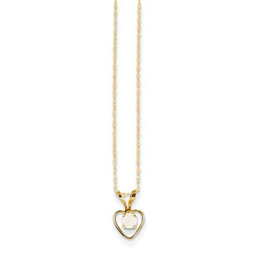 14k Yellow Gold Kid Pendant Charm Necklace Fine Jewelry Gifts For Women For Her