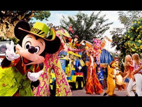 Mickey's Jammin' Jungle Parade at Walt Disney World's Animal Kingdom!