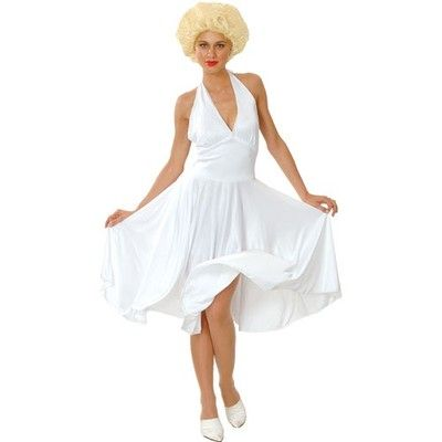 Marilyn Monroe Plus Size XL 22 24 Hollywood Celebrity Fancy White ...
