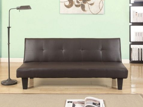 hadbury sofabed brown cheyanne leather trend sofa