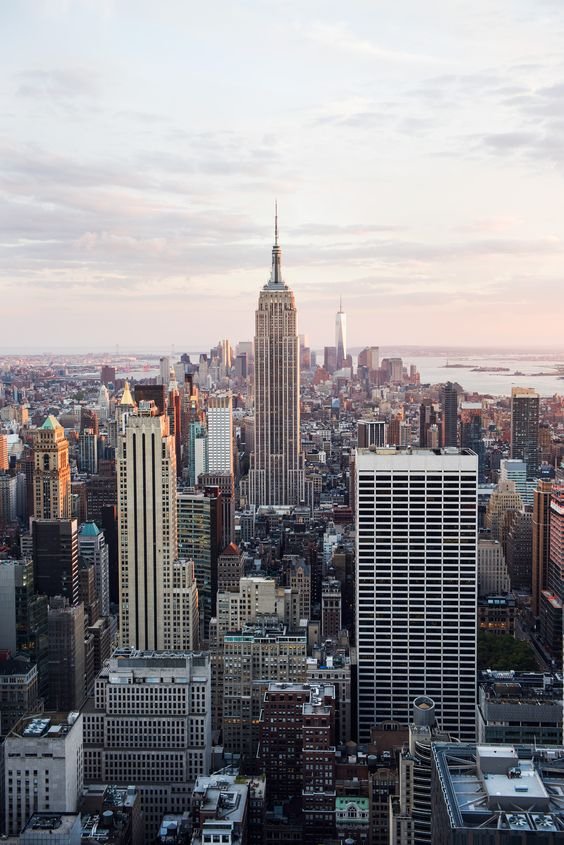 U.S. Tourism: New York is another city on the tour. Having users be able to see the size of these cities should create powerful, resonating feelings.: