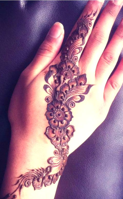 Arabic design, Mehndi designs for beginners and Simple ...