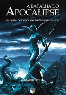 capa do romance fantástico do brasileiro Eduardo Spohr - da queda dos anjos ao crepúsculo do mundo.