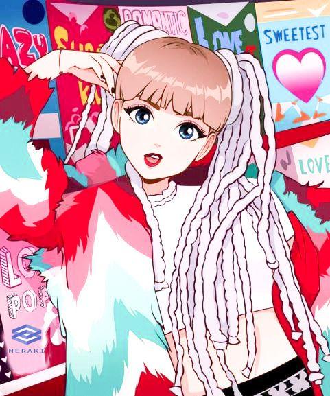 Blackpink anime wallpaper hd