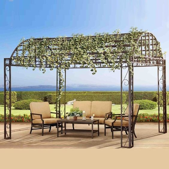 Picture this perfect pavilion placed on your premises. This absolutely gorgeous…
