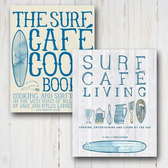 Buy Surf Caf� Living and The Surf Caf� Cookbook together for �30! Surfers Jane and Myles Lamberth are living their dream � running a bustling seaside caf�, crea