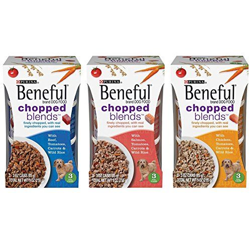 Purina Beneful Chopped Blends Wet Dog Food Variety Pack 3 Ounces