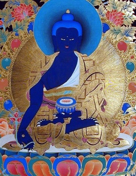 Medicine Buddha for healing ~ very powerful practice, even for the lay person.