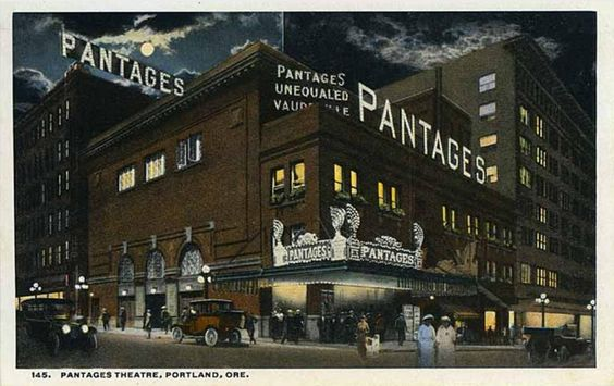 Pantages Theatre in Portland