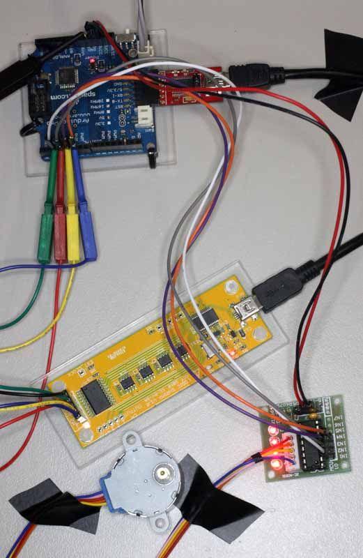 Arduino Stepper Motor Driver A Tutorial Electronics
