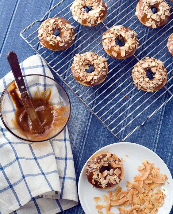 Gluten Free Coconut Doughnuts Recipe
