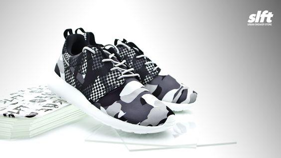 """Neuer Roshe One Print """"Snow Camo"""" von Nike ab sofort inStore und onLine auf www.soulfoot.de erhältlich!  Sizerun EU 39 - 46  €89,95  #nike #rosheone #rosherun #print #snowcamo #sneaker #soulfoot #slft"""