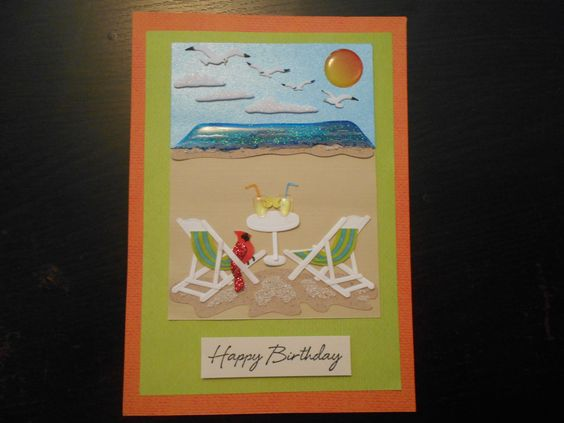 Custom card made for a friends mom.  The cardinal represents her father who has passed.
